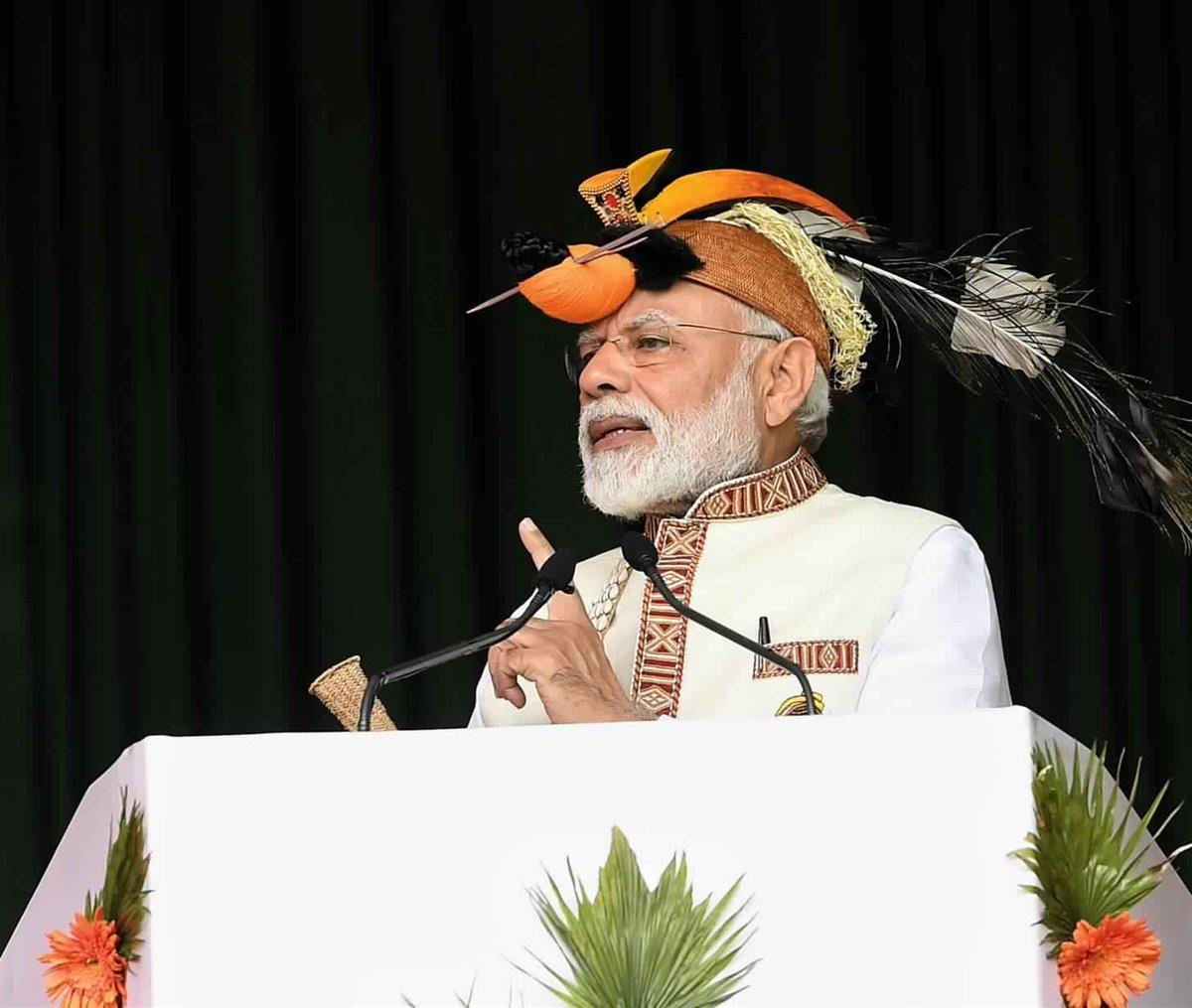 પૂર્વોત્તરનો વિકાસ જ ન્યૂ ઈન્ડિયાના સપનાને કરશે સાકારઃ PM મોદી