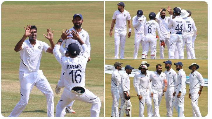વિશાખાપટ્ટનમ ટેસ્ટ: ભારતે દક્ષિણ આફ્રિકાને 203 રનથી હરાવી શ્રેણીમાં 1-0થી લીડ મેળવી