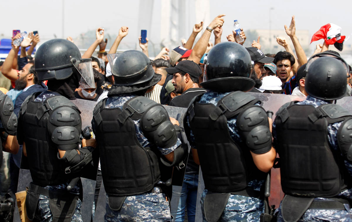 ઇરાક: વિરોધ પ્રદર્શનમાં 15 વિરોધીઓ માર્યા ગયા