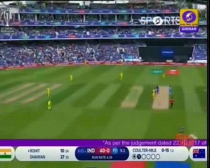 WC2019: ભારતે ટોસ જીતી પ્રથમ બેટીંગ કરવાનો કર્યો નિર્ણય