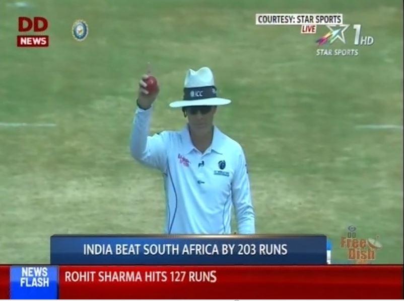 વિશાખાપટ્ટનમ ખાતેની પ્રથમ ટેસ્ટમાં ભારતનો શાનદાર વિજય
