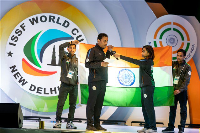 ઇન્ટરનેશનલ શૂટિંગ સ્પોર્ટ્સ ફેડરેશન વર્લ્ડકપ 2019નો નવી દિલ્હી ખાતે થયો પ્રારંભ