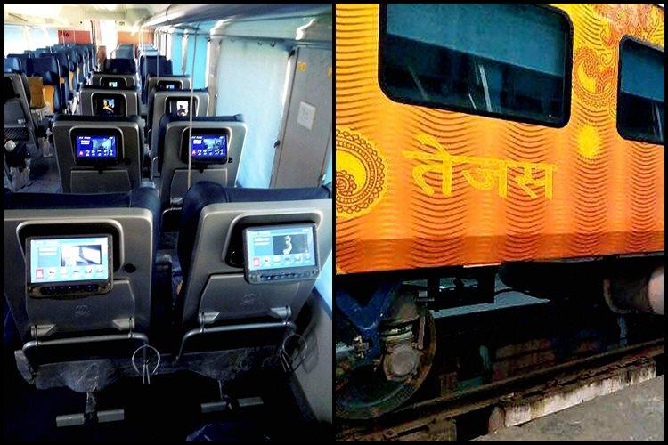અમદાવાદ -મુંબઈ વચ્ચે દોડશે તેજસ ટ્રેન